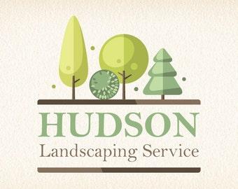 Trees Logo | Tree Logo | Landscaping Logo | Landscape Logo | Lawn Care Logo | Logo Design | Graphic Design | Premade Logo