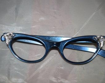 Oden Women's Vintage Cat's Eye Glasses