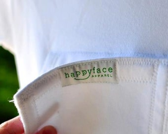 Feeding Tube ACCESS or PROTECTION added to the Onesie - Provides caregivers easy access to the feeding tube