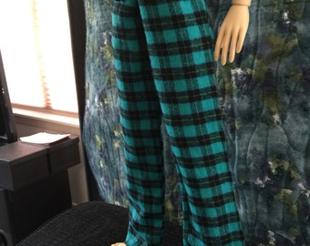 BJD SD flannel Pajamma Bottoms