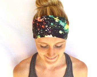 Fitness Headband - Workout Headband - Running Headband - Yoga Headband - Disco Rave