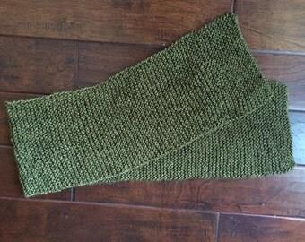 Leafy Green Scarf