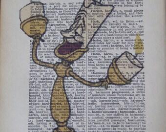 Lumiere Vintage Print