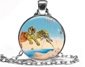Salvador Dali - Art Handmade Pendant Necklace