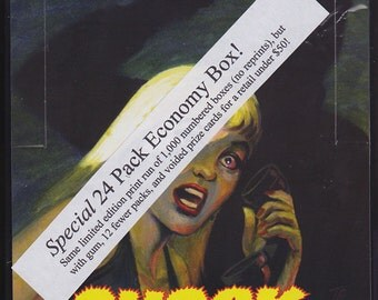 Urband Legends - Shock Stories (EC Horror monster trading cards)