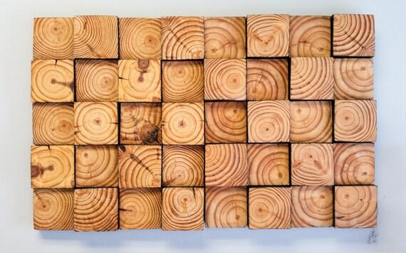 wood wall art wood wall mosaic reclaimed wood art wood