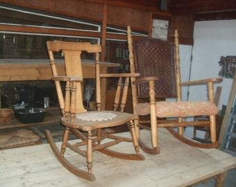 Antique rocking chaires