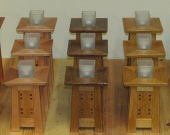 Arts & Crafts Candle Stands