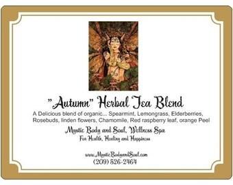 Autumn Herbal Tea Blend