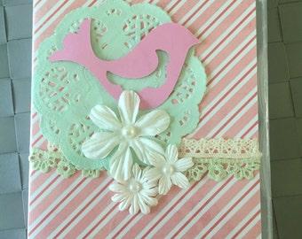 Bird Themed - Purse Notebook