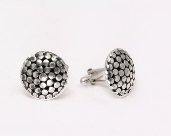 Sterling Silver Cufflinks. Free shipping for Father's Day!