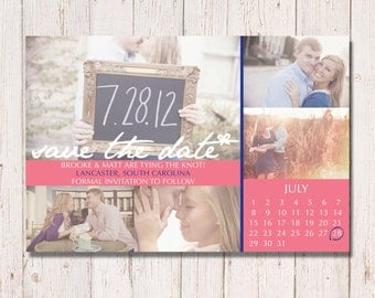 Photo Card Save The Date