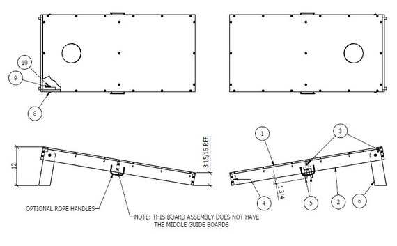 Bean Bag Corn Hole Plans Pictures To Pin On Pinterest