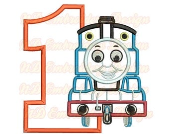 Thomas Train Machine Applique My Home And Yours