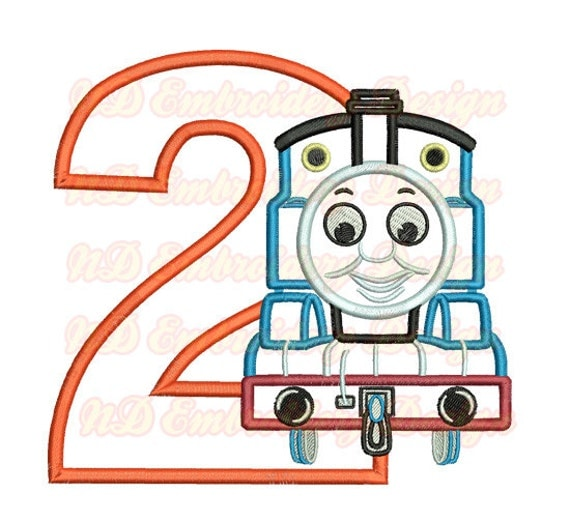 Thomas Train 2nd Birthday Wwwpicsbudcom