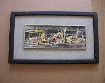 "Harold Laynor (1922 - 1991) ""Fisher Village"""
