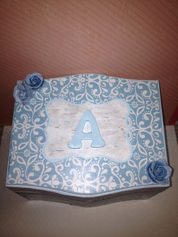 Jewelry Box Trinket Box Wedding Party Favor By CustomCraftsByLisa