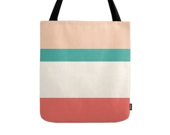 Stripes tote bag Stripes bag Summer tote bag summer canvas bag summer bag Striped Tote Bag coastal tote bag beach tote bag striped canvas