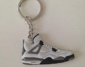 Jordan Keychain 4 IV cement keychain