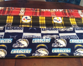 NFL MLB College and other trade marked fleece scarves