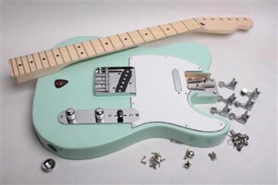 build your own electric guitar kit licensed fender by byoguitar. Black Bedroom Furniture Sets. Home Design Ideas