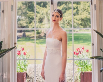 A Classic and Simplistic Style Wedding Dress.