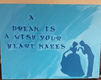 Items similar to A dream is a wish your heart makes ... A Dream Is A Wish Your Heart Makes Images