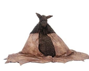 Bat bean bag chair bat wing blankets