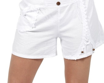 Lido Embroidered Shorts