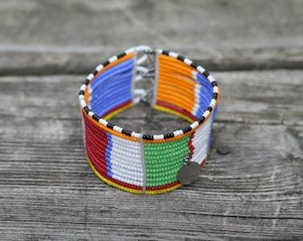 Cuff Beaded Bracelet