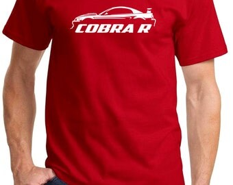2000 Ford Mustang Cobra R Classic Outline Design Tshirt