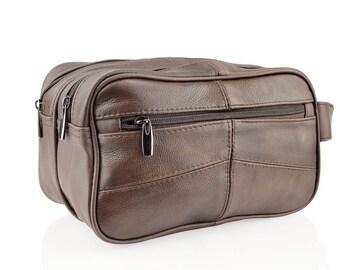 Woodland Leather Wash Bag BR3754