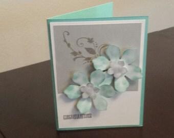 Silver Flower Wedding