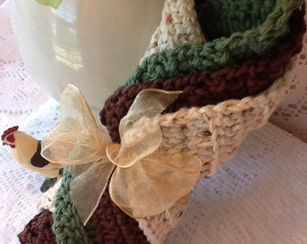 Set of 3 Crochet Dish Cloth