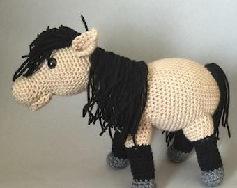 Handmade Crochetted Horse
