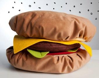 Hamburger Pillow Panel