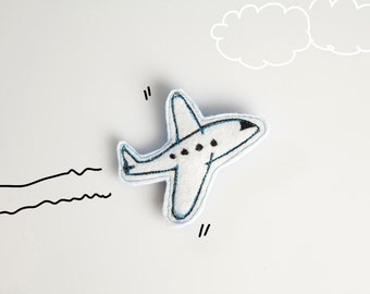 PIN Airplane in the clouds