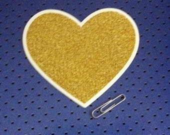 Heart of Gold Bumper Sticker