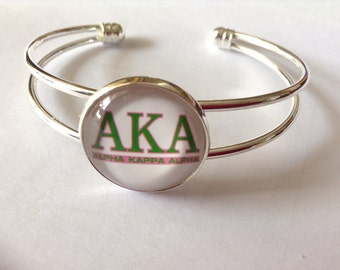AKA Sorority Bracelet Bangle for the Devine 9