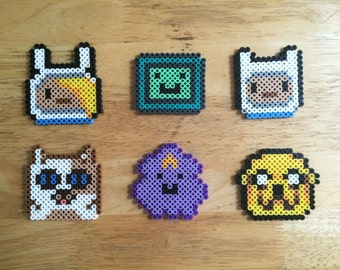 Adventure Time Perler Bead set