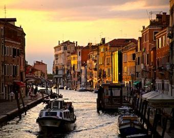 Venice at Dusk - Digital Download