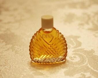 Diva Perfume By Ungaro, Designer Perfumes, Diva Parfum, Vintage Fragrances, Ungaro Parfums, Diva Perfume Miniature, Diva Perfume Bottles