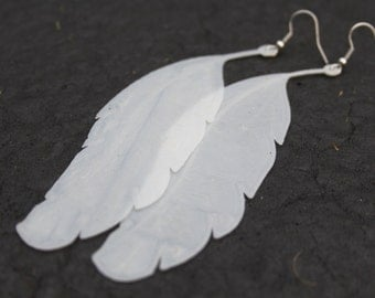 3D Printed Feather Earrings