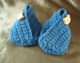 Tiptoe Baby Slippers - Wooden Cat