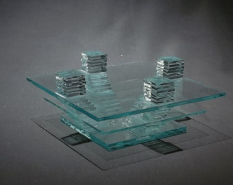 BASE THREE, learn how to make this simple glass sculpture