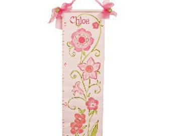 Glitter Flower Growth Chart