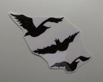 Three Birds Flying To My Heart - Temporary Tattoo - Inspired by Divergent