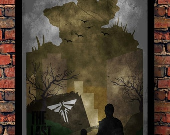 The Last of Us Joel & Ellie Bloater Print