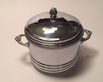 Vintage Silver Plated Ice Bucket/Wine Chiller by Forbes Silver Company from 1930's
