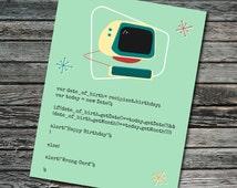 Birthday Javascript Nerdy Computer Card | Programmer, Web Developer, Professor, Student